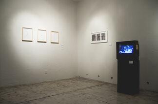 Extrapolación del lenguaje, installation view