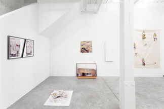 Hive and Double //  Eleanor Aldrich & Barbara Weissberger, installation view