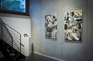 """""""Pretension of Greatness"""" by Franco Fasoli, installation view"""