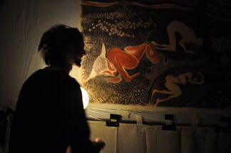 Thomas Allen: Contemporary Cave Painting, installation view