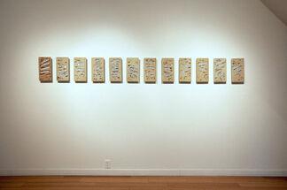 Otino Corsano: Banner Year, installation view