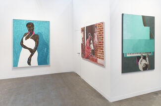 Roberts Projects at The Armory Show 2020, installation view