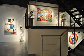 50 years after Walt..., installation view