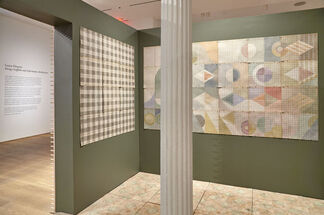 Louise Despont: Energy Scaffolds and Information Architecture, installation view
