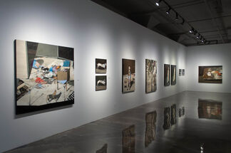 Jean Pierre Ruel: Légende du marcheur, installation view