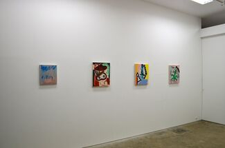 Tatiana Berg: Sticky Foot, installation view