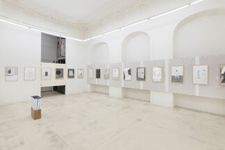 Werner Reiterer - Draw the Line to Catch the Time, installation view