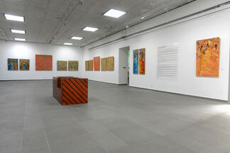 AU FIL DU TEMPS (As time goes by), installation view