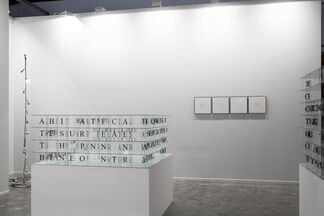 Sabrina Amrani at Art Dubai 2015, installation view