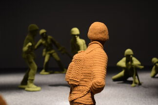 Nathan Vincent: Let's Play War!, installation view