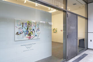 Paintings of Painted Flowers, installation view