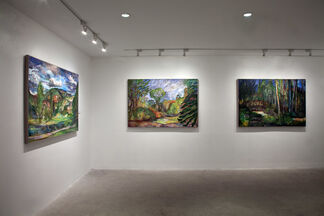 Nancy Friese: Monumental Watercolors, installation view