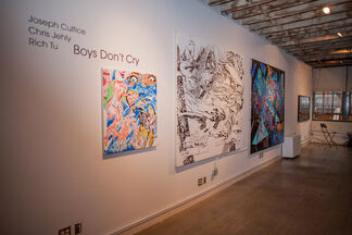 Boys Don't Cry, installation view