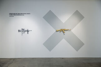 History Interrupted, The Art of Disarmament, installation view