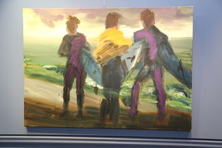 Rainer Fetting solo exhibition, installation view