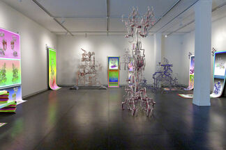 Convolution Weave Structures, installation view