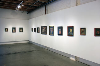 Unsettled: Portraits by Peter Zokosky, installation view