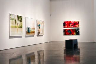 """Perception"" - Group Show, installation view"
