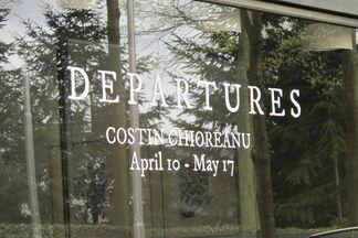 Departures, installation view