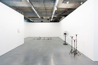 one second ago, installation view