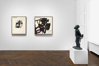 """""""Jörg Immendorff: Questions from a Painter Who Reads"""", installation view"""