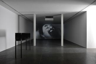 Mounir Fatmi: They were blind, they only saw images, installation view