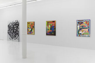 Post Analog Painting II, installation view