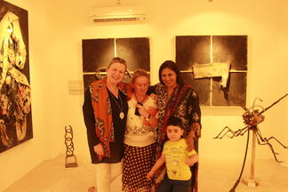 1st Upcycled Art Festival exhibition, installation view