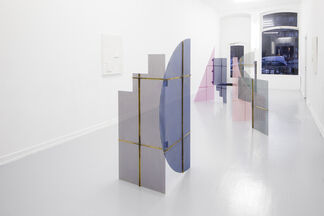 Eva Berendes; Screens and Reliefs, installation view
