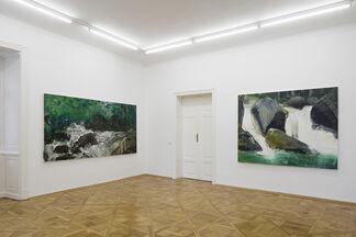 HERBERT BRANDL - Black River Dark Fighters, installation view