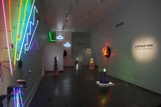 A Difficult Pair, installation view