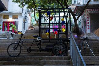 Niko de La Faye: M2B at Hong Kong Artwalk 2014, installation view