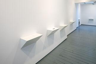 Anna Blessmann and Peter Saville - In Course of Arrangement, installation view