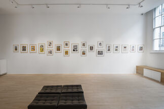 Erro : 60 years of collages, installation view