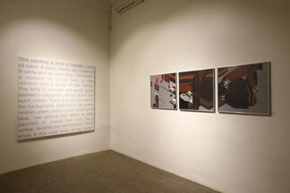 Approaching Land, installation view