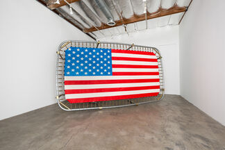 JOSH REAMES:  Don't cross streams while trading horses, installation view