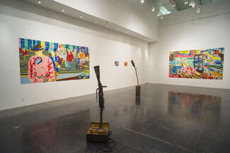 On Location @ the Art Center South Florida, installation view