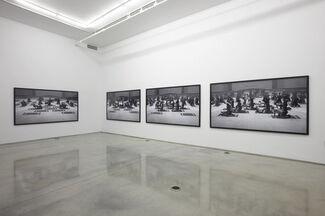 """Santiago Sierra - """"Los Penetrados"""", installation view"""