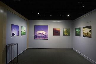 Never Too Close featuring Roman Franc, Gabriela Kolčavová, Vojtěch V. Sláma, Ondřej Žižka, installation view
