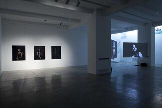 "Lina Bertucci ""Dark Wave"", installation view"