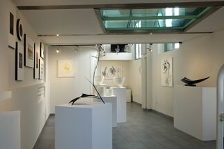 JAPAN IN BLACK AND WHITE: Sumi, Lacquer, Jiki, installation view