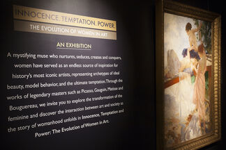 Innocence ~ Temptation ~ Power : The Evolution of Women in Art, installation view
