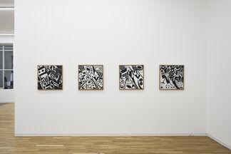 A. R. Penck, Transformer, installation view