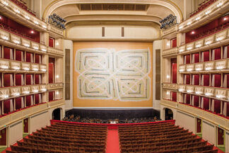 Safety Curtain 2014/2015 by Joan Jonas, installation view