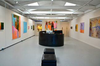 Chris Gwaltney - Time is..., installation view