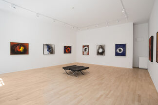 Otto Piene : Fire Paintings 1965- 2009, installation view