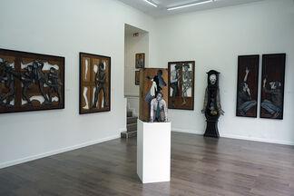 Levalet, Ellipses, installation view
