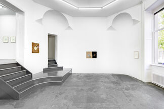 BILL LYNCH curated by Matthew Higgs, installation view
