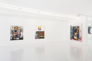 Flashback cont'd, installation view