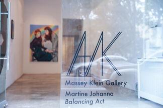 Martine Johanna, Balancing Act, installation view